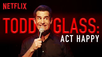 Is Todd Glass: Act Happy on Netflix New Zealand?