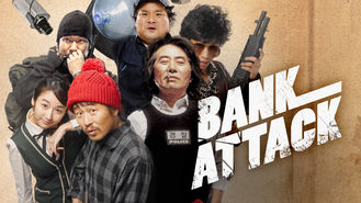Netflix box art for Bank Attack